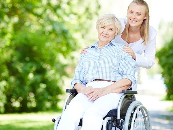service personne handicapée