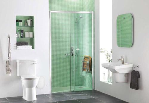Lux Monaco Walk in Shower Recessed
