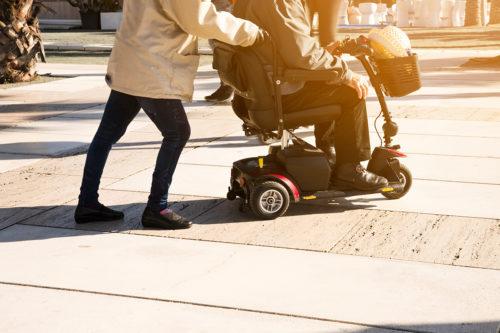 scooter électrique senior pmr