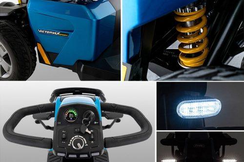scooter électrique senior victory 10 dx